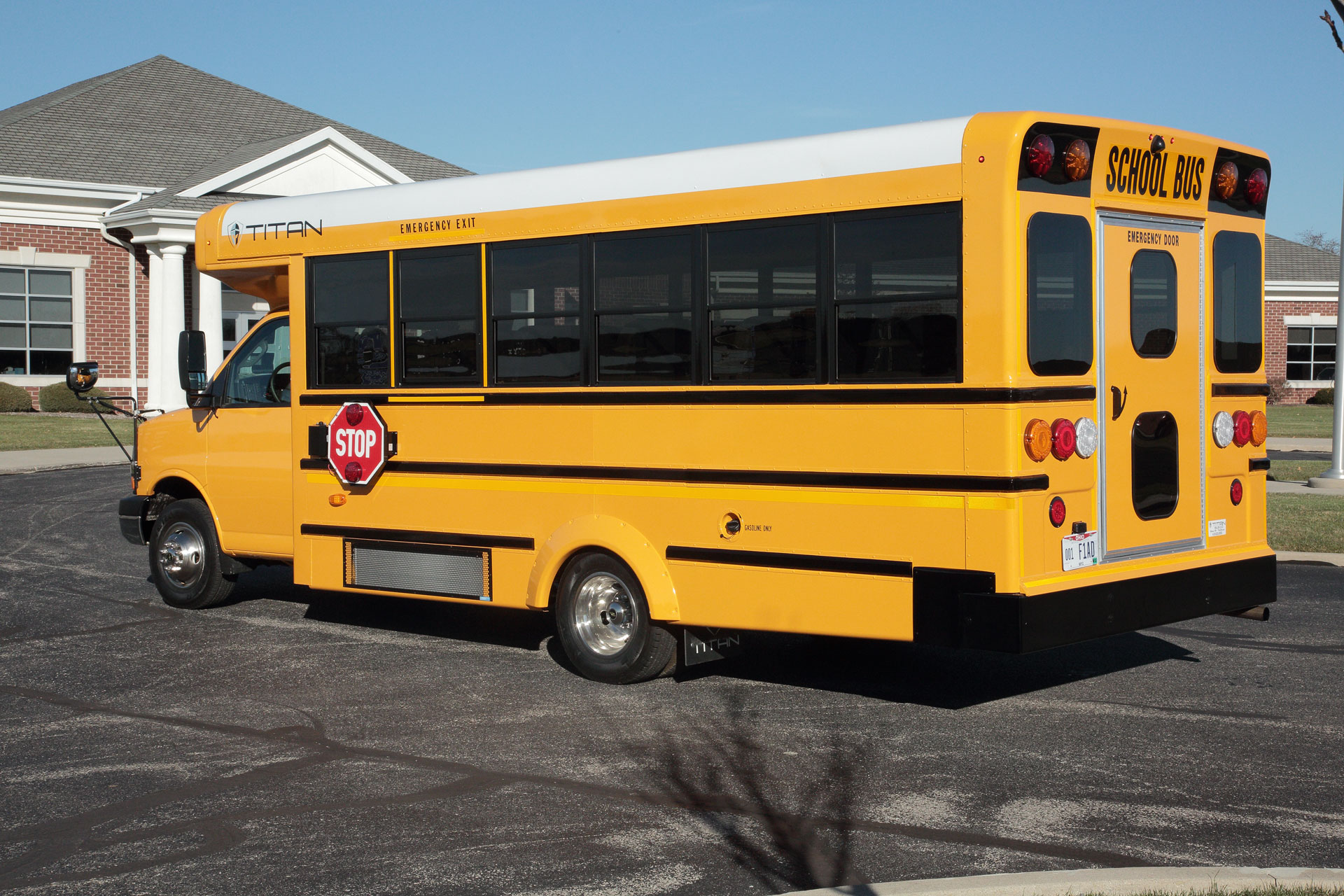 Drw Type A School Bus Titan Bus